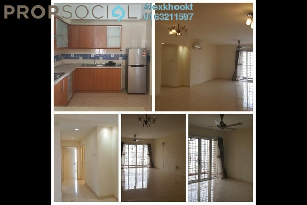 For Rent Condominium at Kiaramas Sutera, Mont Kiara Freehold Semi Furnished 3R/2B 3.5k