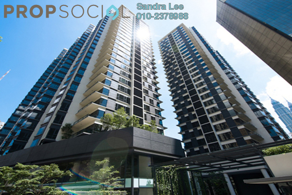 For Rent Condominium at St Mary Residences, KLCC Freehold Semi Furnished 2R/2B 7.5k