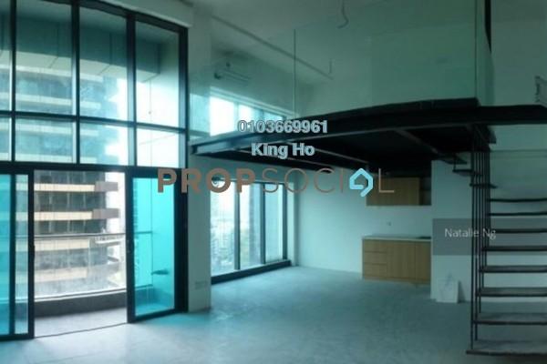 For Rent Condominium at Empire City, Damansara Perdana Leasehold Semi Furnished 0R/1B 1.5k
