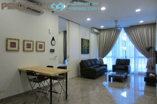 For Rent Serviced Residence at Laman Ceylon, Bukit Ceylon Freehold Fully Furnished 2R/2B 2.8k