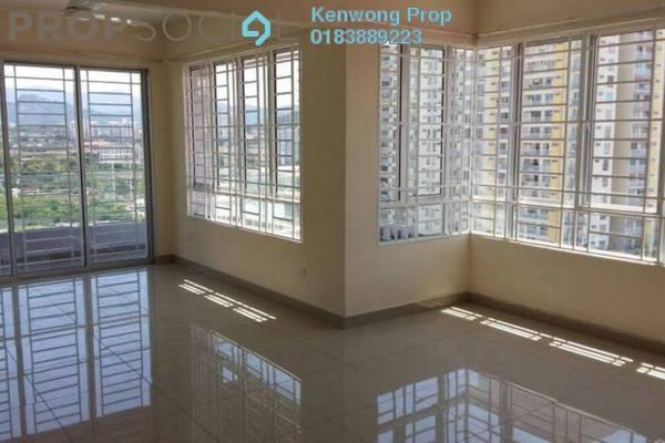 For Rent Condominium at Platinum Lake PV21, Setapak Freehold Semi Furnished 3R/2B 2k