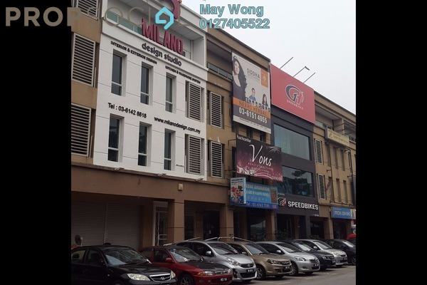 For Rent Shop at The Strand, Kota Damansara Leasehold Semi Furnished 0R/0B 9k