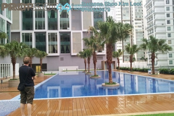 For Rent Condominium at Soho Suites, KLCC Freehold Fully Furnished 1R/1B 3.1k