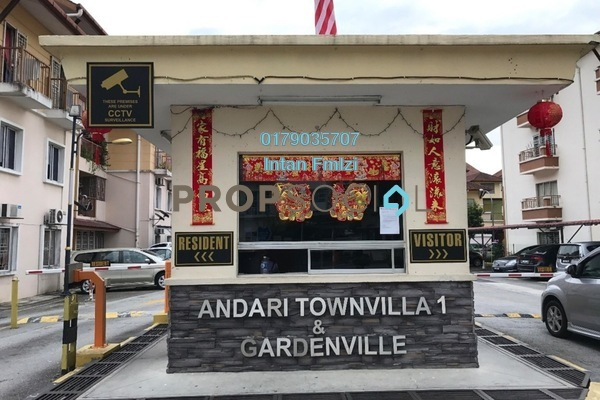 For Rent Condominium at Gardenville Townvilla, Selayang Heights Leasehold Unfurnished 3R/2B 1.4k