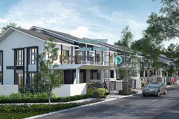 For Rent Terrace at Mekar, Bandar Ainsdale Freehold Unfurnished 3R/3B 1.1k