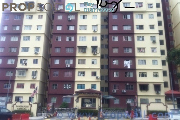 For Rent Condominium at Cemara Apartment, Cheras Leasehold Unfurnished 3R/2B 1.2k