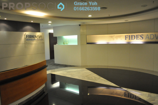 For Rent Office at Plaza Sentral, KL Sentral Freehold Fully Furnished 0R/0B 17.6k