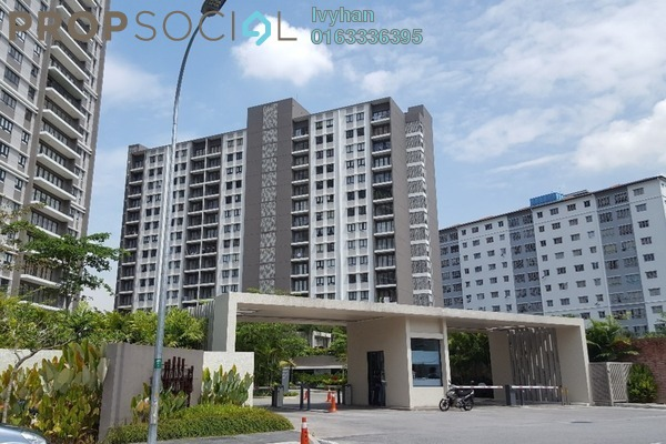 For Rent Condominium at Windows On The Park, Bandar Tun Hussein Onn Freehold Semi Furnished 3R/3B 2.4k
