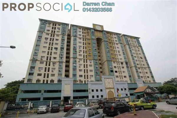 For Rent Condominium at Prisma Perdana, Cheras Freehold Semi Furnished 3R/2B 1.5k
