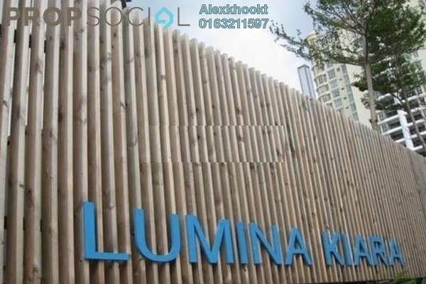 For Rent Condominium at Lumina Kiara, Mont Kiara Freehold Semi Furnished 3R/2B 3.7k