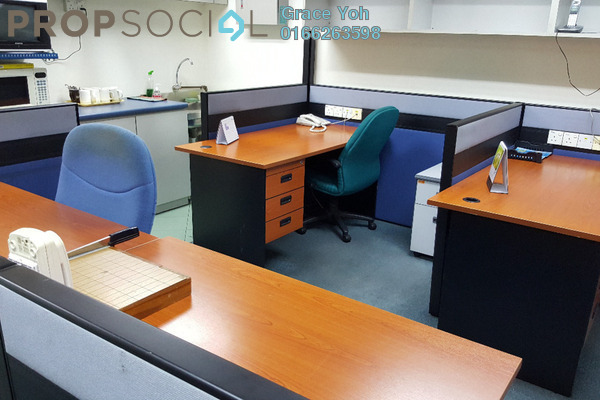 For Rent Office at The Boulevard, Mid Valley City Leasehold Fully Furnished 0R/0B 3.5k