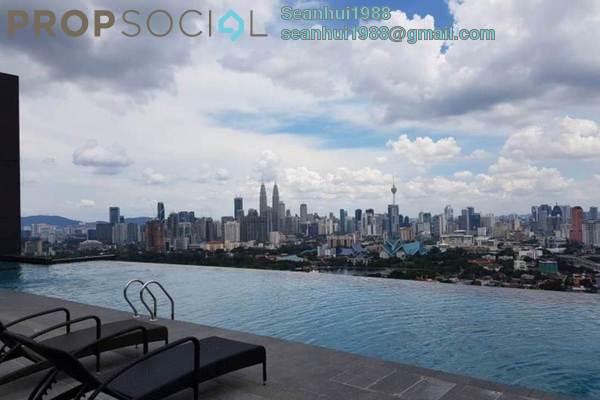For Rent Condominium at The Reach @ Titiwangsa, Setapak Freehold Semi Furnished 3R/3B 2.4k