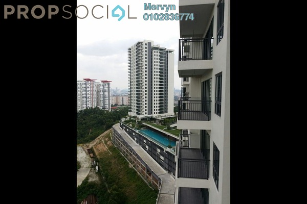 For Rent Condominium at Zefer Hill Residence, Bandar Puchong Jaya Freehold Semi Furnished 4R/3B 1.7k