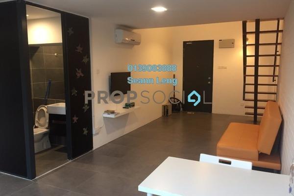 For Rent Duplex at Empire Damansara, Damansara Perdana Leasehold Fully Furnished 1R/2B 1.65k