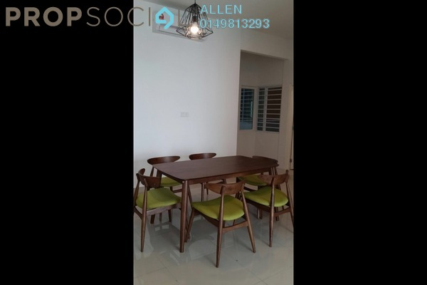 For Rent Condominium at Nusa Heights, Iskandar Puteri (Nusajaya) Freehold Fully Furnished 3R/2B 1.6k