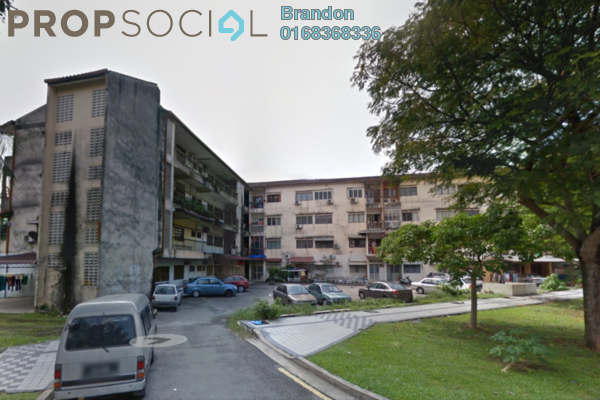 For Rent Apartment at Gombak Court, Setapak Freehold Unfurnished 3R/2B 1k