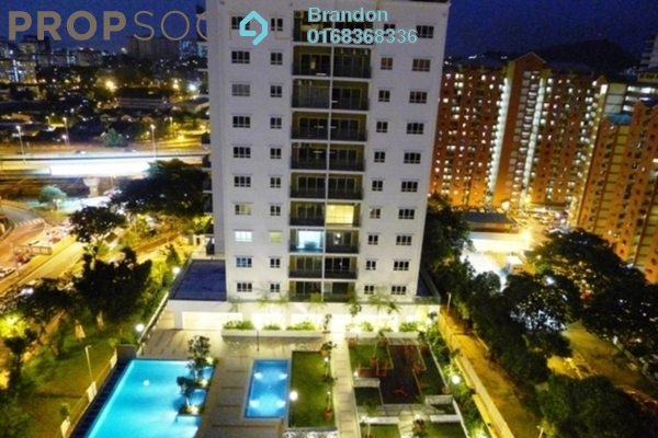 For Rent Condominium at Suria Jelatek Residence, Ampang Hilir Leasehold Fully Furnished 4R/2B 2.5k
