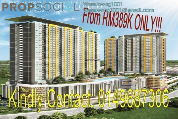 For Sale Serviced Residence at D'Idaman Residence, Bandar Tasik Selatan Leasehold Unfurnished 3R/2B 388k