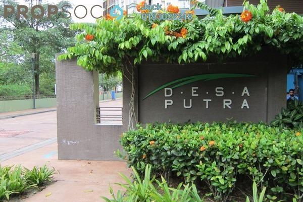 For Rent Condominium at Desa Putra, Wangsa Maju Leasehold Unfurnished 4R/2B 2.8k
