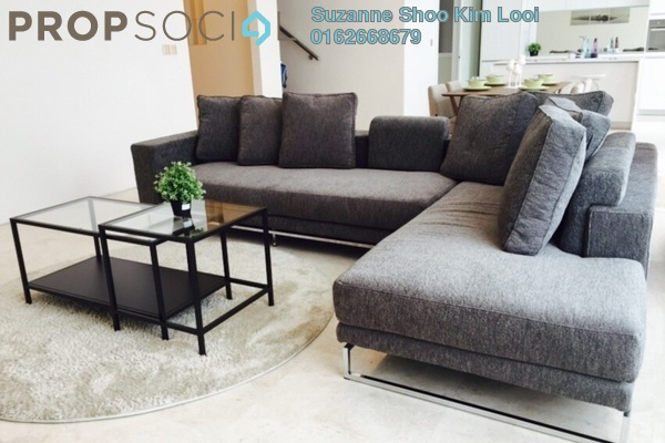 For Rent Condominium at Quadro Residences, KLCC Freehold Fully Furnished 3R/4B 9k