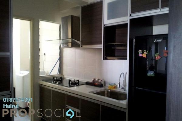 For Rent Condominium at Suri Puteri, Shah Alam Leasehold Semi Furnished 3R/2B 1.6k