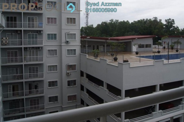 For Sale Condominium at Kristal Heights, Shah Alam Leasehold Unfurnished 3R/2B 400k