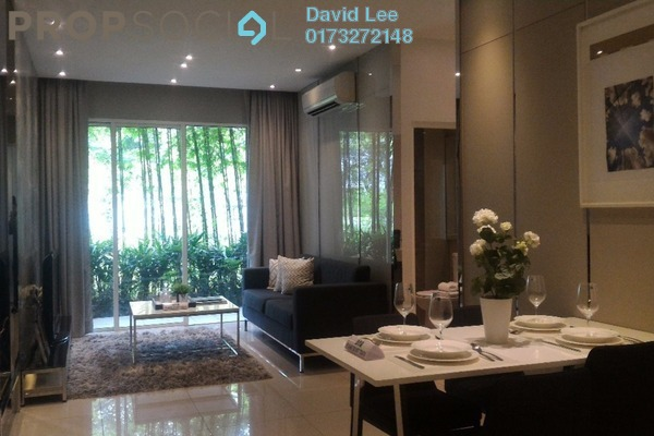 For Sale Condominium at Sentul Point, Sentul Freehold Unfurnished 2R/1B 380k