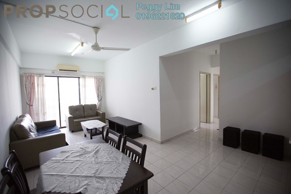 For Rent Condominium at Vista Millennium, Puchong Leasehold Semi Furnished 3R/2B 1k