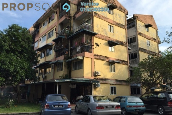 For Sale Apartment at Valencia Apartment, Shah Alam Freehold Unfurnished 3R/2B 128k
