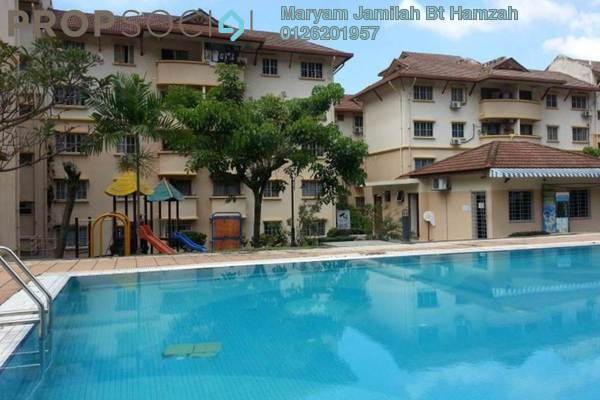 For Rent Condominium at D'Palma Apartment, Pusat Bandar Puchong Freehold Semi Furnished 3R/2B 1.3k