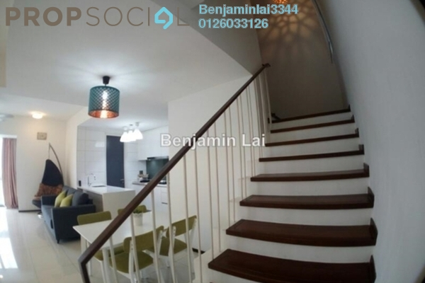 For Rent Condominium at The Breezeway, Desa ParkCity Freehold Semi Furnished 2R/2B 3.3k