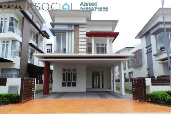 For Sale Bungalow at CasaIdaman, Setia Alam Freehold Unfurnished 6R/7B 1.9m