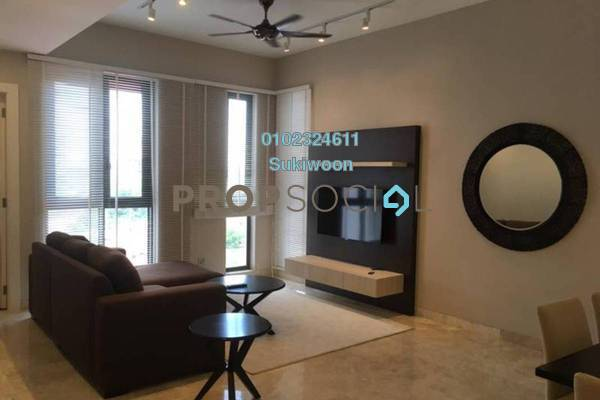 For Rent Condominium at Icon Residence, Dutamas Freehold Fully Furnished 2R/2B 3.7k