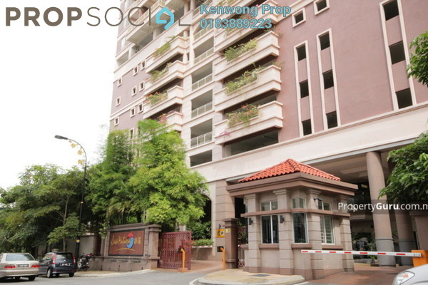 For Rent Condominium at Casa Mutiara, Pudu Freehold Fully Furnished 0R/1B 2k