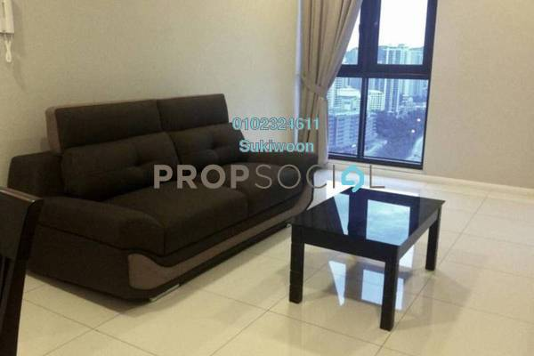 For Sale Serviced Residence at Icon Residence, Dutamas Freehold Semi Furnished 1R/1B 770k