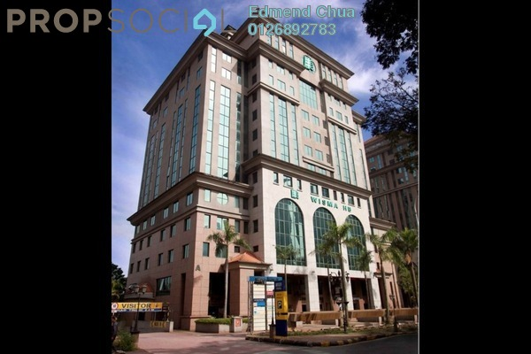 For Rent Office at Megan Avenue 2, KLCC Freehold Semi Furnished 0R/0B 15.6k