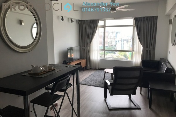For Sale Condominium at 38 Bidara, Bukit Ceylon Freehold Fully Furnished 2R/2B 700k