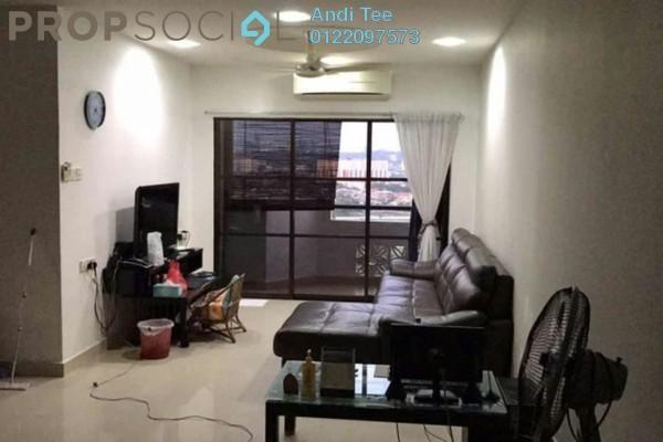 For Sale Condominium at Villamas Apartment, Bandar Puchong Jaya Freehold Semi Furnished 3R/2B 470k