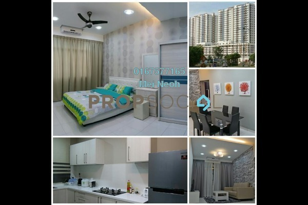 For Rent Serviced Residence at Jentayu Residensi, Johor Bahru Freehold Fully Furnished 3R/2B 2k