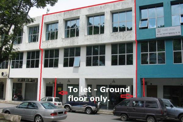 For Rent Shop at Gasing Indah, Gasing Heights Freehold Unfurnished 0R/1B 6.8k