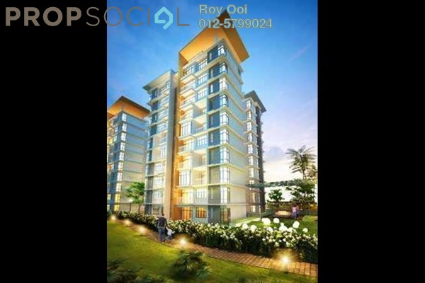 For Sale Condominium at Lakeview Residency, Cyberjaya Freehold Semi Furnished 3R/2B 590k