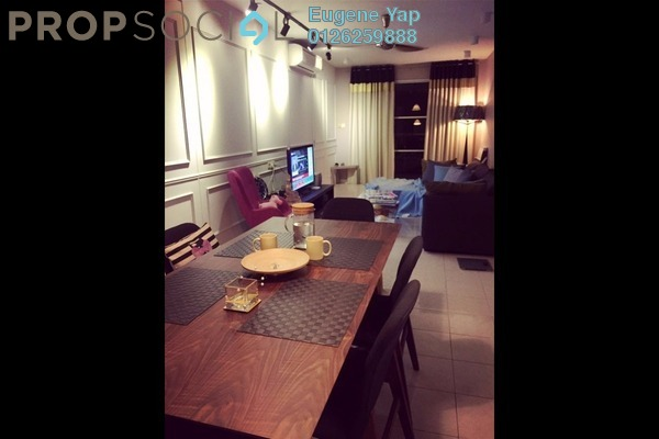 For Sale Condominium at Laman Suria, Mont Kiara Freehold Semi Furnished 2R/2B 650k