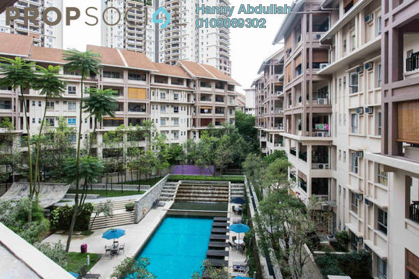 For Sale Condominium at Seri Maya, Setiawangsa Freehold Semi Furnished 3R/2B 699k