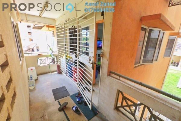 For Sale Apartment at Taman Sri Rampai, Setapak Leasehold Semi Furnished 3R/2B 370k