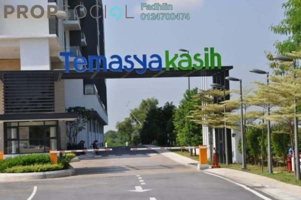 For Sale Condominium at Temasya Kasih, Temasya Glenmarie Freehold Semi Furnished 3R/2B 690k