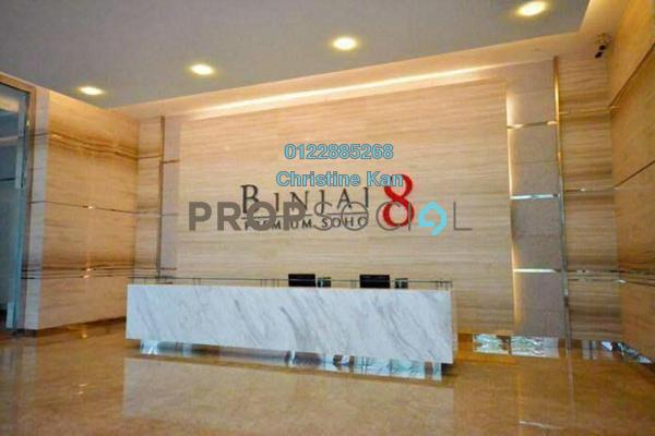 For Rent Condominium at Binjai Residency, KLCC Freehold Fully Furnished 2R/1B 3.4k