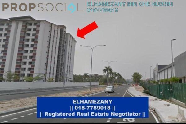 For Sale Apartment at Bandar Teknologi Kajang, Semenyih Freehold Semi Furnished 3R/2B 290k