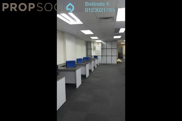 For Rent Office at Megan Avenue 2, KLCC Freehold Semi Furnished 0R/1B 9.92k