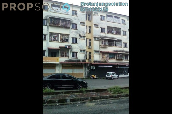 For Sale Apartment at Taman Juru, Juru Freehold Unfurnished 3R/1B 70k