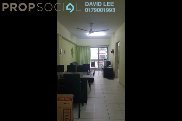 For Rent Apartment at Pelangi Damansara, Bandar Utama Leasehold Fully Furnished 3R/2B 1.25k
